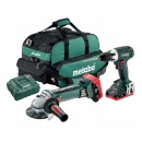Combo set 18V LiHD Metabo BS 18 LT + W 18 LTX 125 Quick 691109000