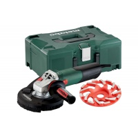Metabo Úhlová bruska WE 15-125 HD Set GED 600465500