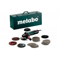 Metabo Úhlová bruska WEV 15-125 Quick Inox Set 600572500
