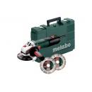 Metabo Úhlová bruska W 12-125 Quick Set 600398510