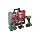 Metabo Aku vrtačka BS 18 Set akumulátorový vrtací šroubovák 602207880 mobilní dílna