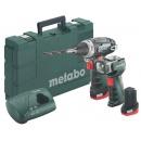 Metabo PowerMaxx BS  akumulátorový vrtací šroubovák (600080530) + ULA LED (600367000)